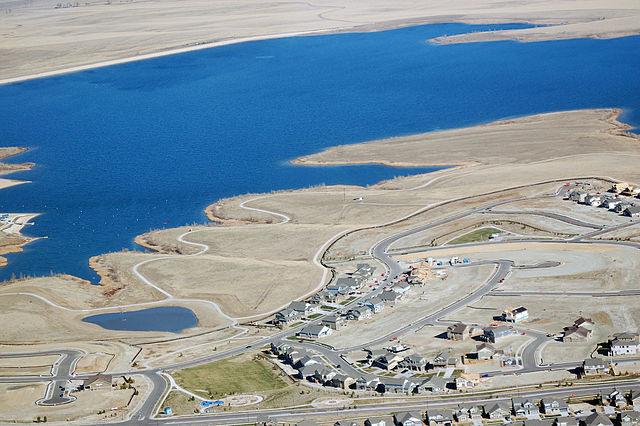 The Aurora Reservoir | Photo from Wikimedia Commons